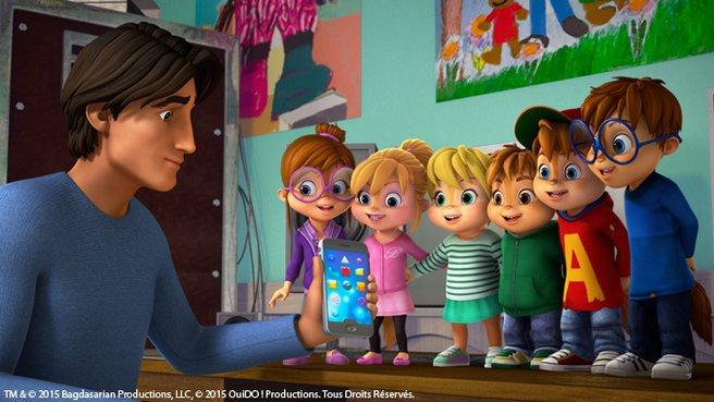 Alvin et les chipmunks 4 s ries tv - Coloriage alvin et les chipmunks simon ...