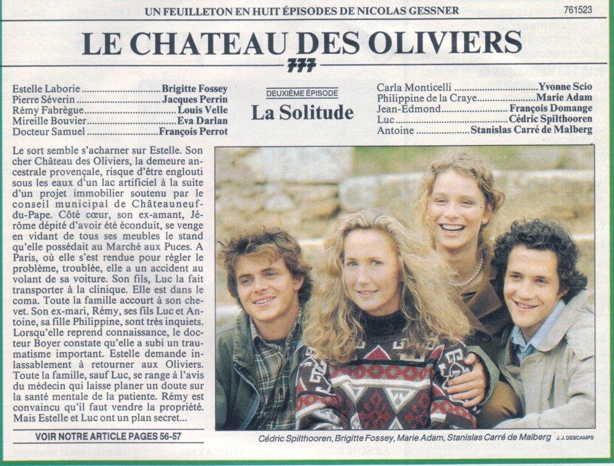 Photo le ch teau des oliviers s ries tv - Le chateau des oliviers de salette ...